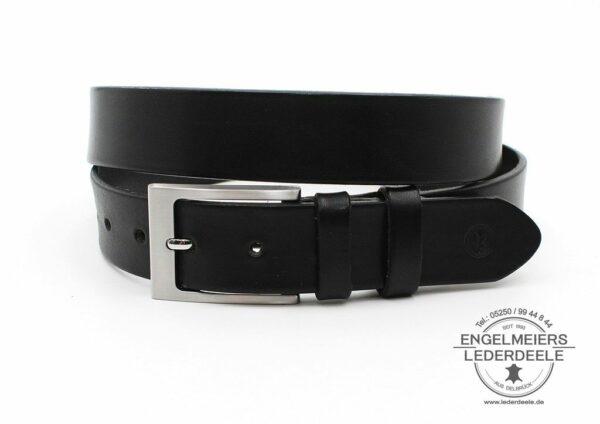Herrengürtel Harry Green Belts schwarz Produktansicht