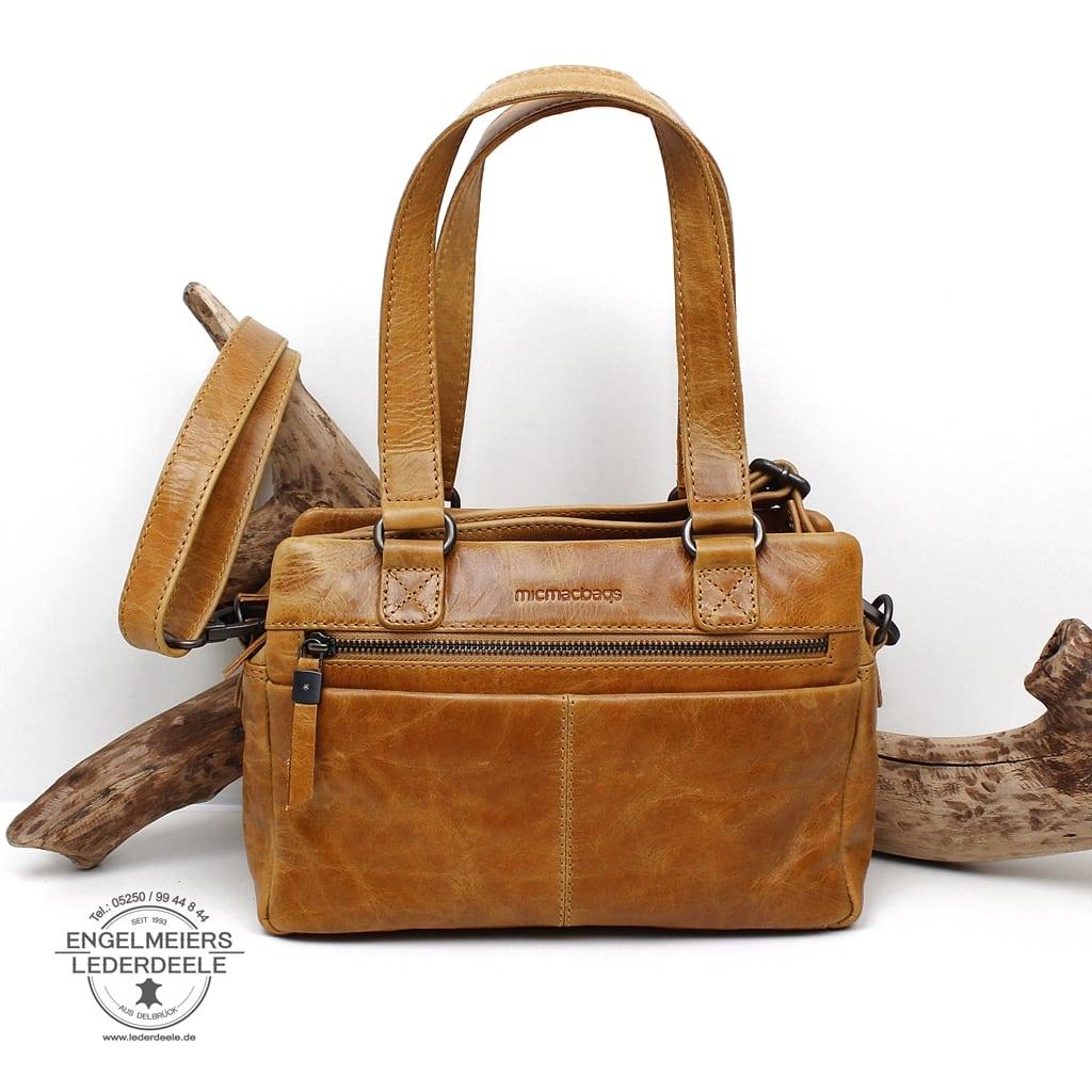 Handtasche micmacbags Ocker