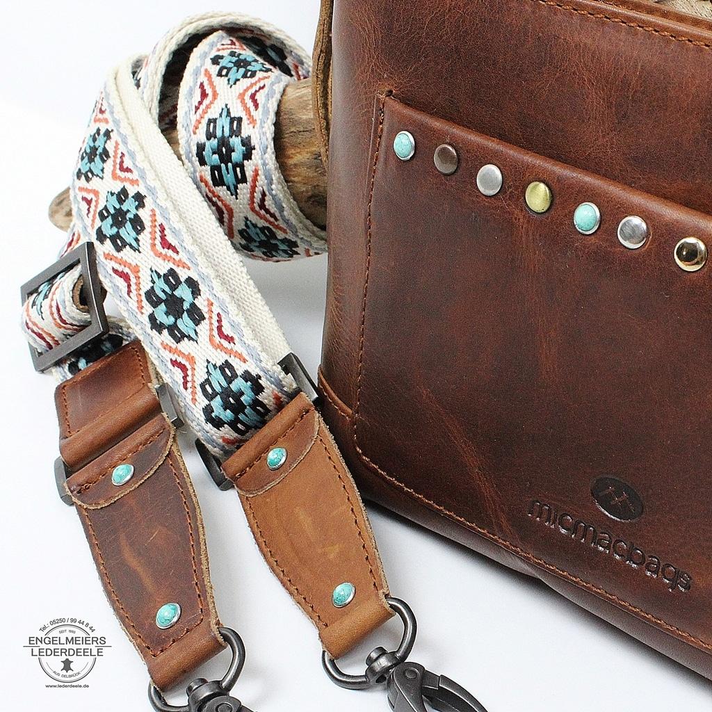 micmacbags - ausgefallen-traditionelle Handtasche Detailbild