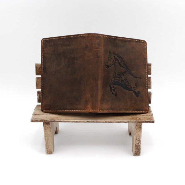 Pferd Hoch Vintage Hunting braun GreenBurry Produktansicht