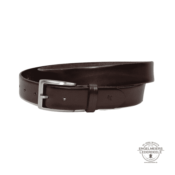Herrengürtel Finley Green Belts braun Produktansicht