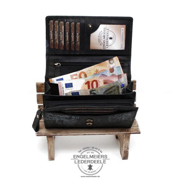 Geldbörse da Vinci Jockey Club schwarz Produktansicht