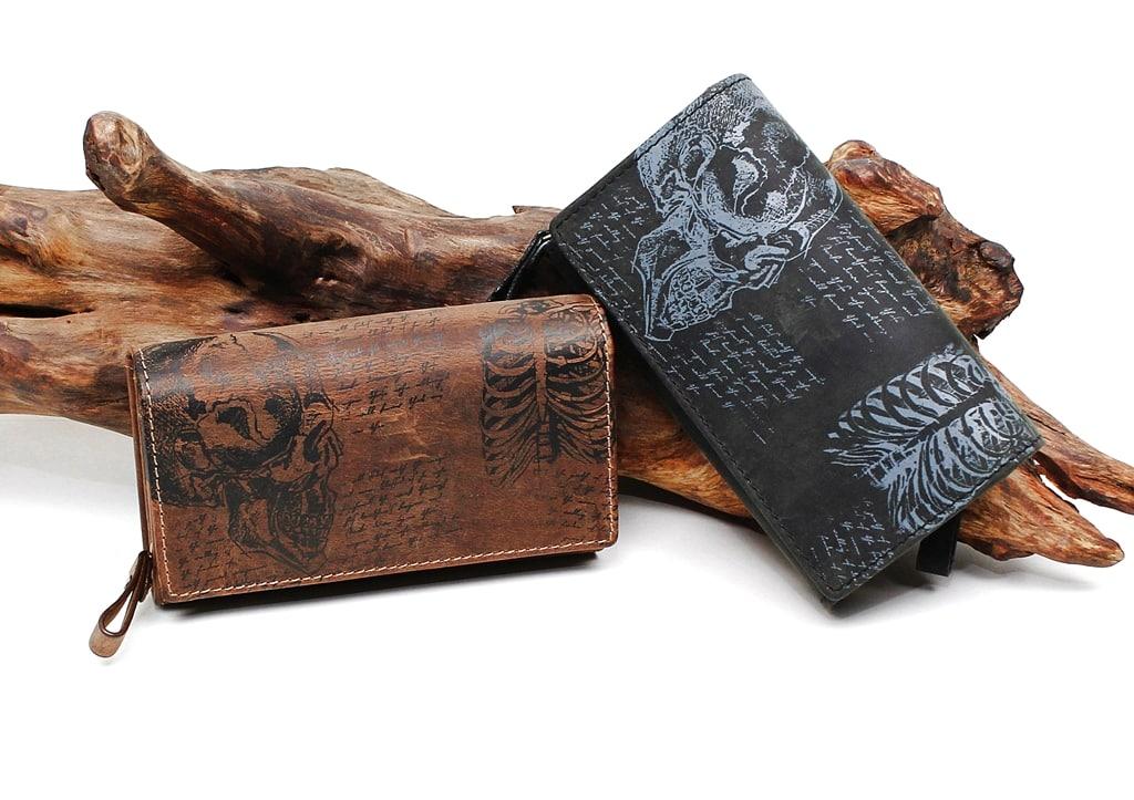 Geldbörse da Vinci Jockey Club schwarz, cognac Gruppenbild