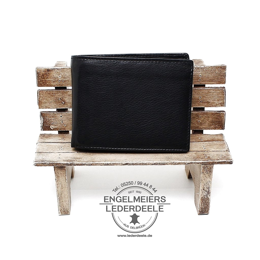 Riegel Portemonnaie Massala Jockey Club schwarz Schaltfläche
