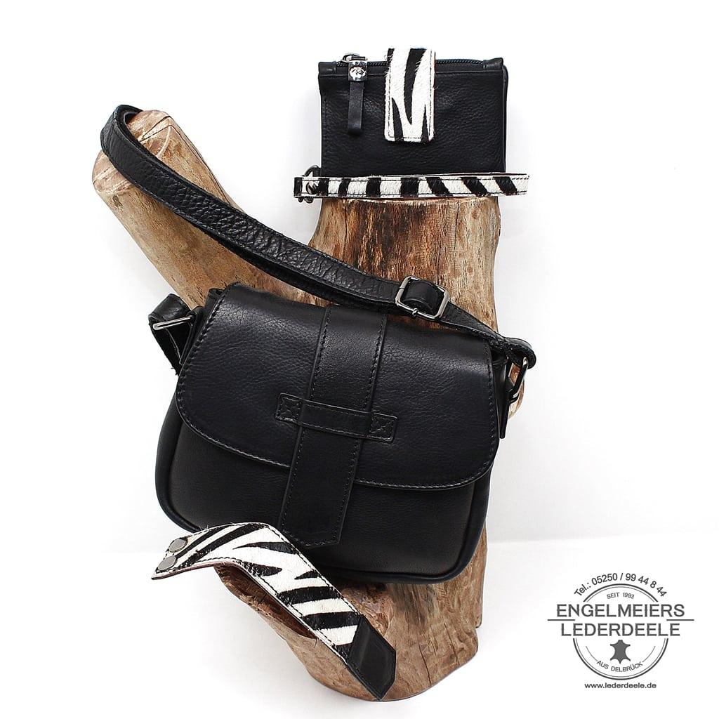 Handtasche Wildlife micmacbags - Set schwarz