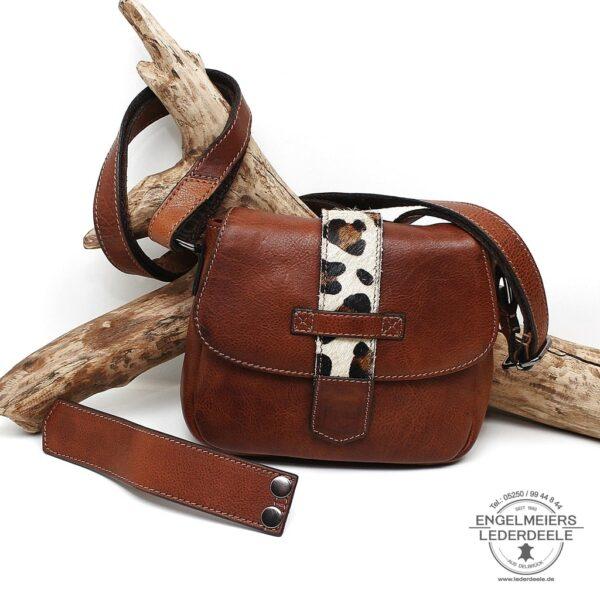 Handtasche Wildlife micmacbags braun - Schaltfläche
