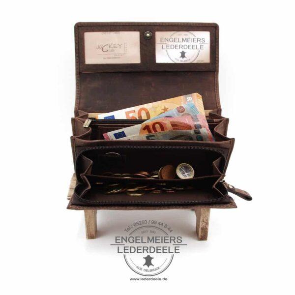 Portemonnaie Kolibri Jockey Club braun Produktansicht