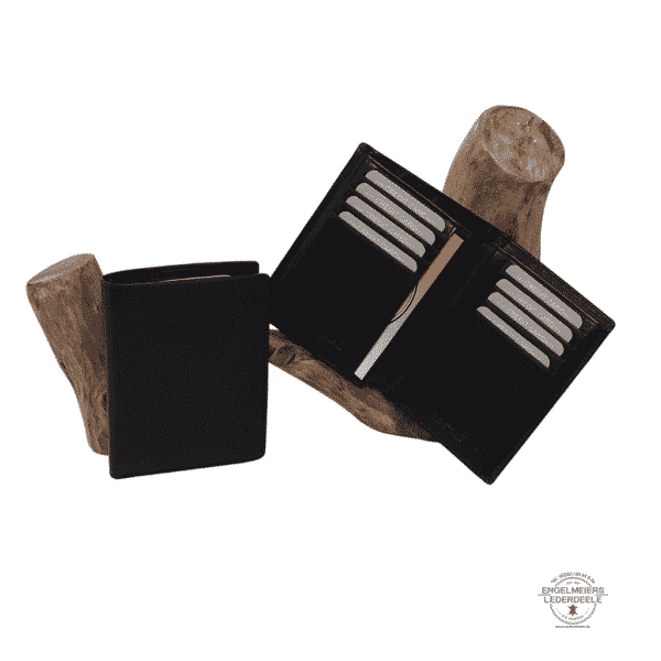 Kreditkartentasche RFID Jockey Club schwarz Produktansicht
