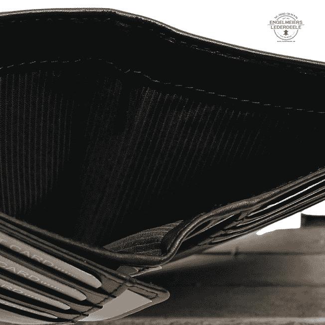 Kreditkartentasche RFID Jockey Club Detailaufnahme