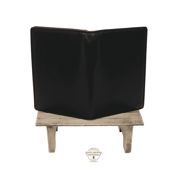 Ausweisetui Brieftasche Jockey Club schwarz Produktansicht