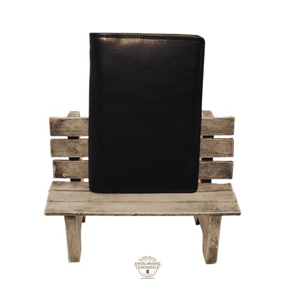 Brieftasche Klassik Jockey Club schwarz Produktansicht