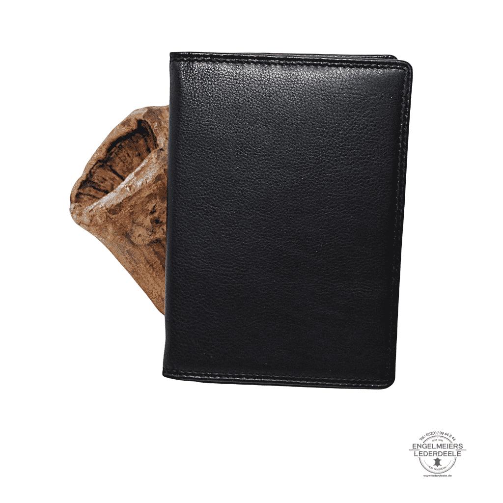Kartenetui Reisepass Jockey Club schwarz Produktansicht