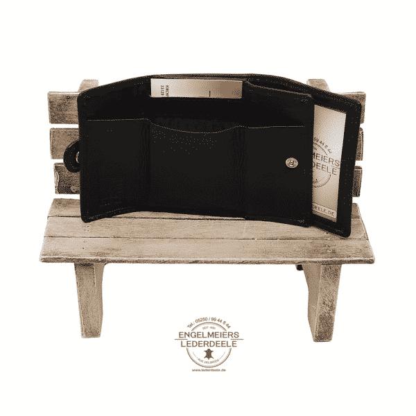 Portemonnaie Gürtelschlaufe mini Jockey Club schwarz Produktansicht